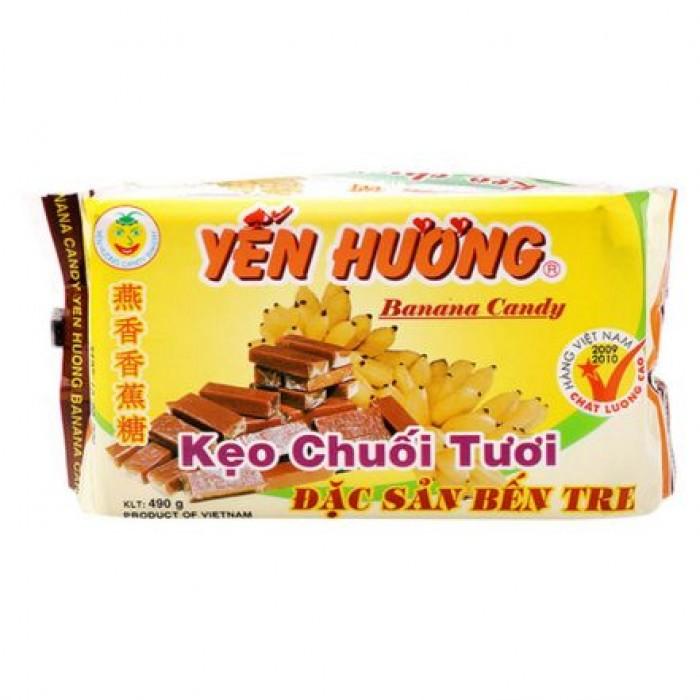 Combo 05 gói Kẹo chuối Yến Hương0