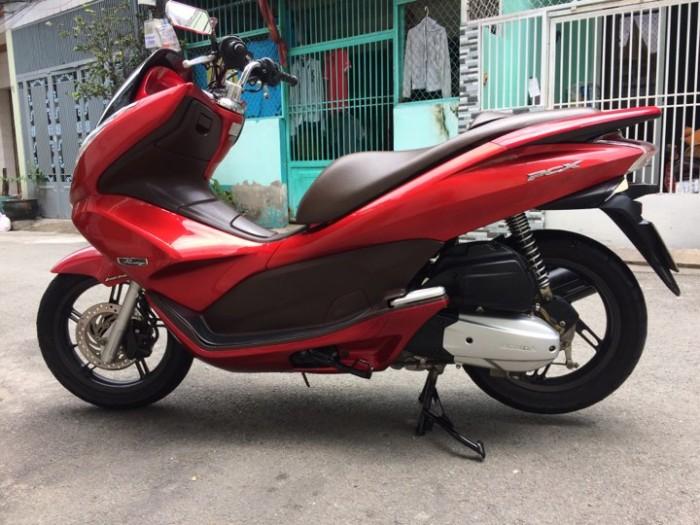 Xe PCX đỏ nâu 2010 trùm mền  Xe như hình