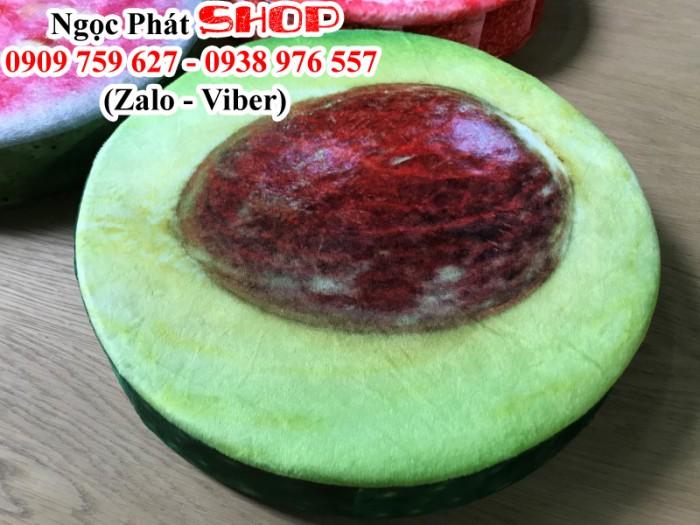 Gối Nệm Trái Cây 3D .Đệm ngồi ,gối ôm 3D hình trái cây