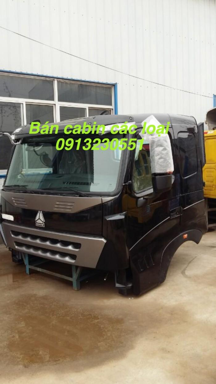 Cần bán cabin sinotruck howo a7, t7h các mầu, nóc cao thấp tổng thành có giá đỡ, chenglong gắn động cơ yuchai