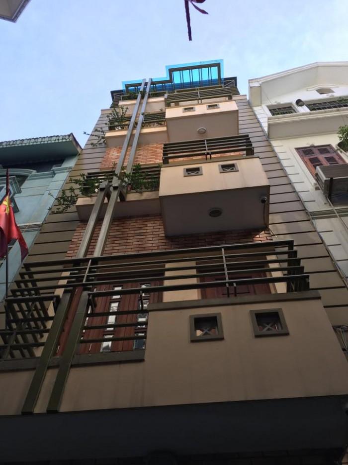 Bán nhà khu phân lô VIP nhất phố Duy Tân- Cầu Giấy, 51m2, 5 tầng, ô tô vòng quanh; 8 tỷ.