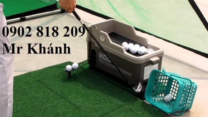 Máy đặt bóng golf trên tee bán tự động2
