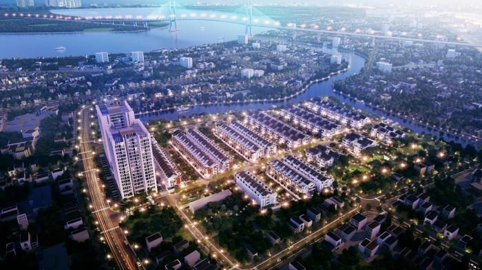 Nhà phố Q7 5x20m, Biệt thự 14x18m liền kề Q1, Q2, giá chỉ 6,7 tỷ, CK lên đến 110tr
