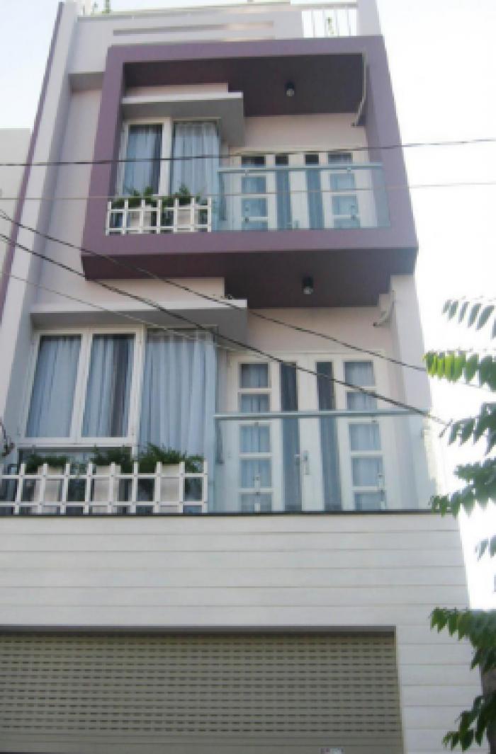 Căn nhà phố mặt tiền 1 trệt 2 lầu 500tr nhận nhà, BC, HCM