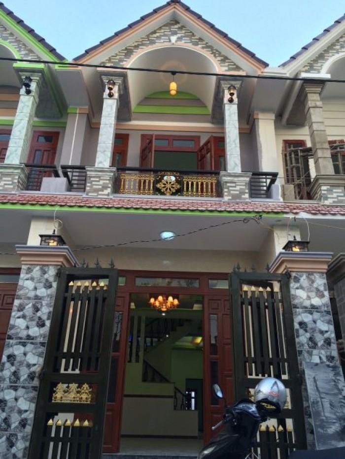 Nhà Hóc Môn Khu đô thị Xuyên Á gần Ngã Ba Giồng.