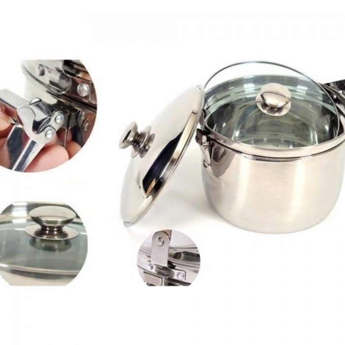 Thiết kế hiện đại, sang trọng với thành phần Inox sáng bóng, nồi ủ nhiệt M�...