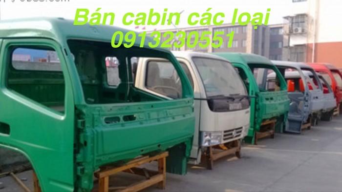 Cần bán cabin các loại xe Việt trung, Cửu Long, Trường Giang, hoa mai từ 2 tấn đến 7 tấn dạng vỏ và tổng thành có ba đờ xốc