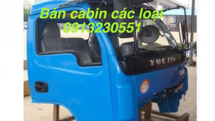 Cần bán cabin xe Việt trung đời 2016 máy yuchai, trường giang máy weichai, Cửu Long tmt đủ màu 4,6 máy.