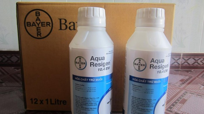 Thuốc diệt muỗi Aqua Resigen 10.4EW BAYER - Diet Muoi