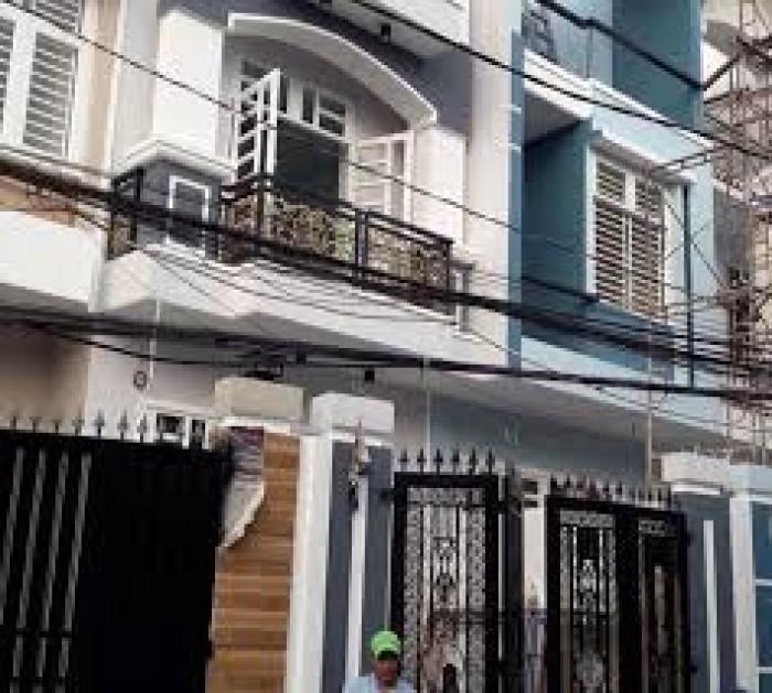 Cần bán nhà mới xây dựng xong khu Nhị Xuân Hóc Môn