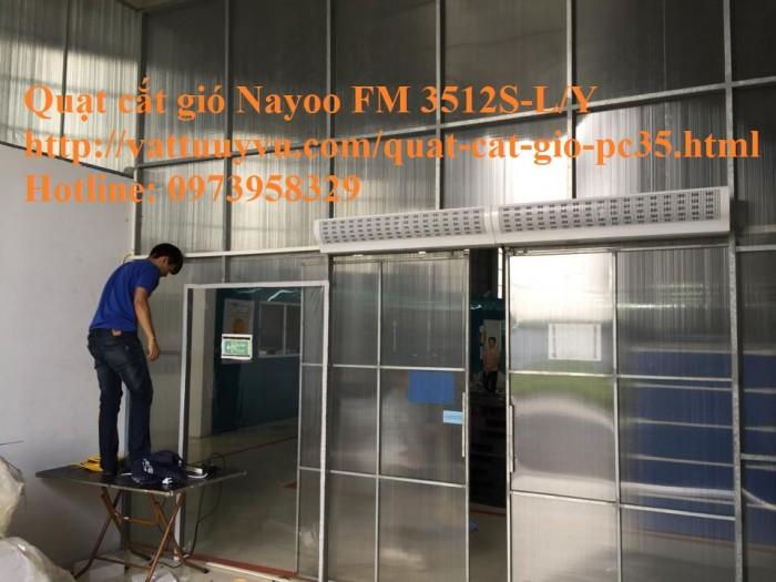 Quạt Cắt Gió Nayoo FM - 1212X-2Y3