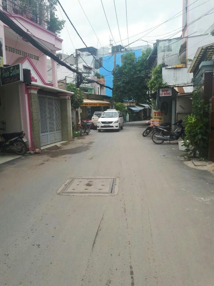 Bán Nhà hẻm Đường Quang Trung, phường 10, quận Gò Vấp