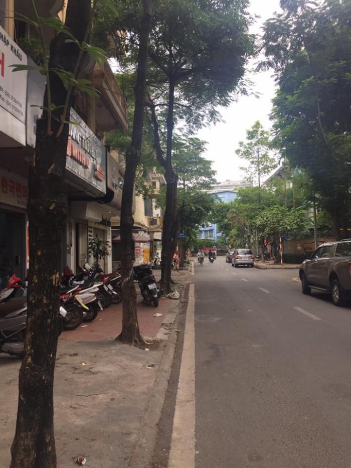 Sốc nhà mặt phố Víp,  kinh doanh khủng  Đỗ Quang Cầu Giấy 51m, 6 tầng, giá 16,8