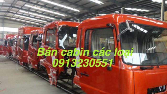 Bán cabin dongfeng hoàng huy 8 tấn 160, 190