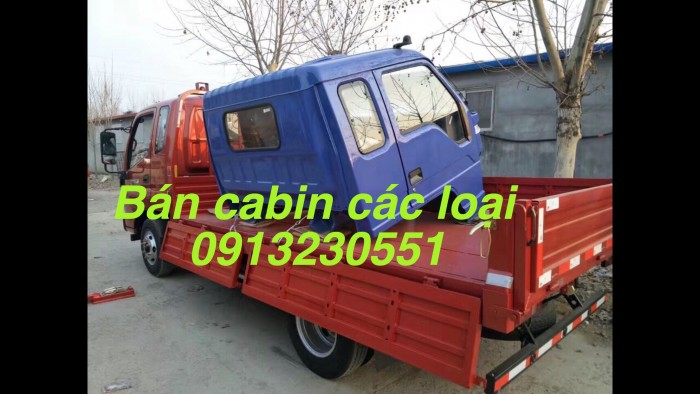 Bán cabin thaco forland fc6000-9000 4x4. New