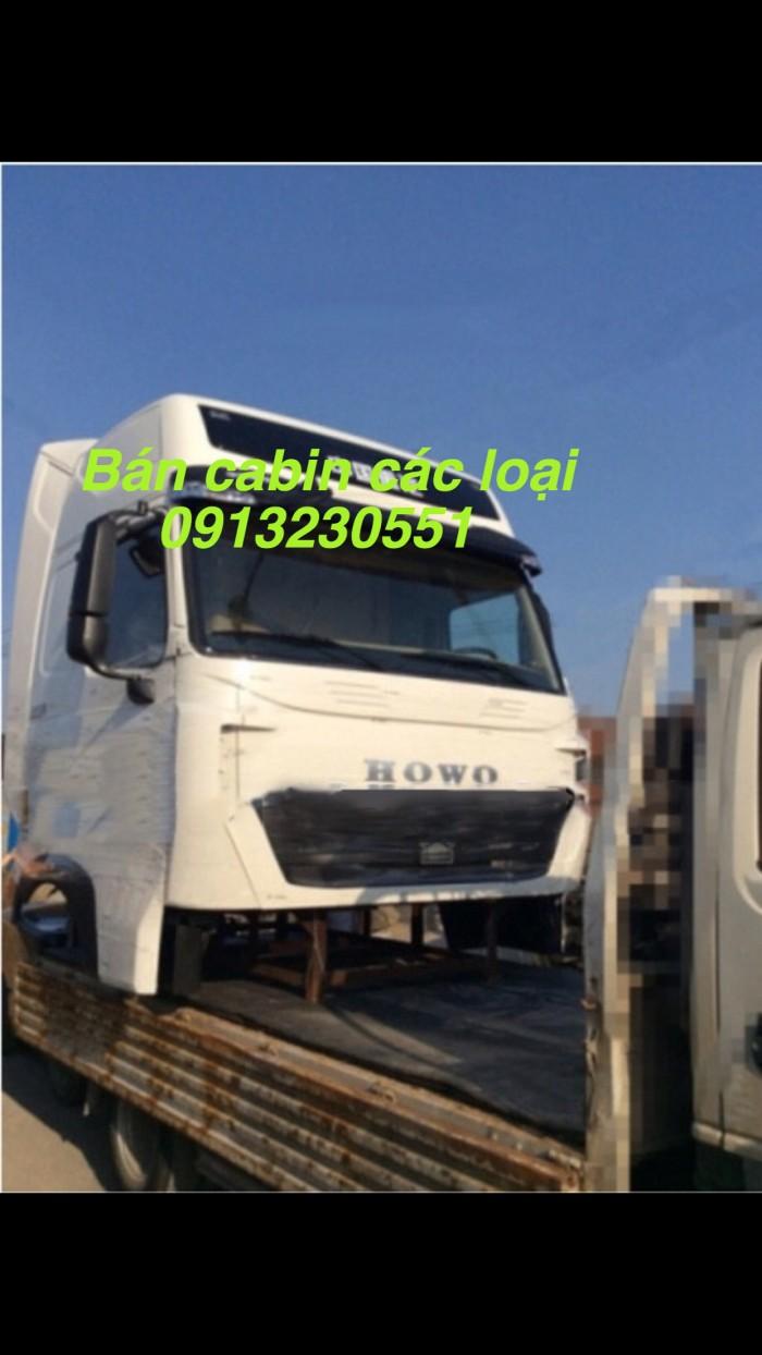 Bán cabin xe sinotruck howo a7, t7h nóc thấp nhập khẩu.