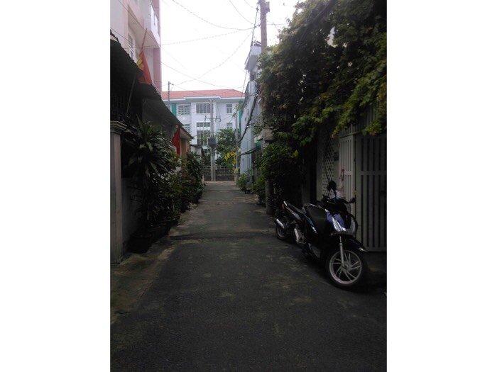 Nhà 1 trệt 3 lầu Bùi Quang Là Gò Vấp