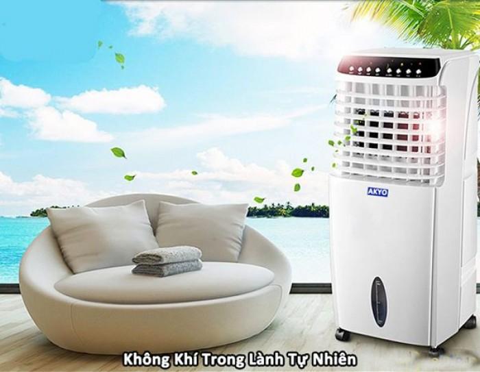 Quạt điều hòa không khí AK 2000 phù hợp cho không gian phòng ngủ