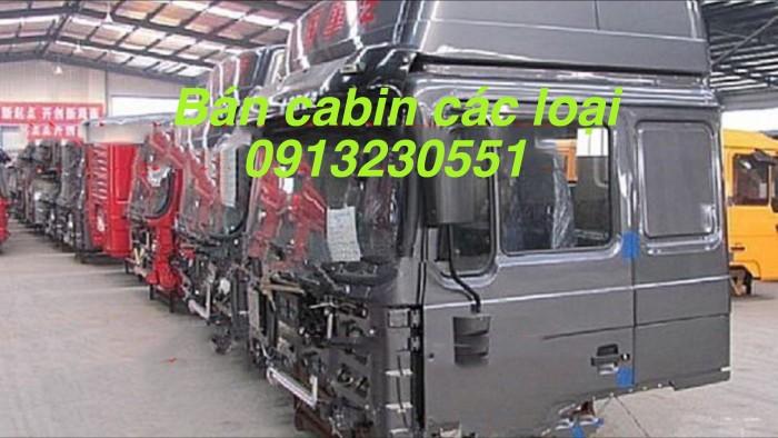 Cần bán cabin xe shacman ben và tải đủ màu, howo zz 338-420hp