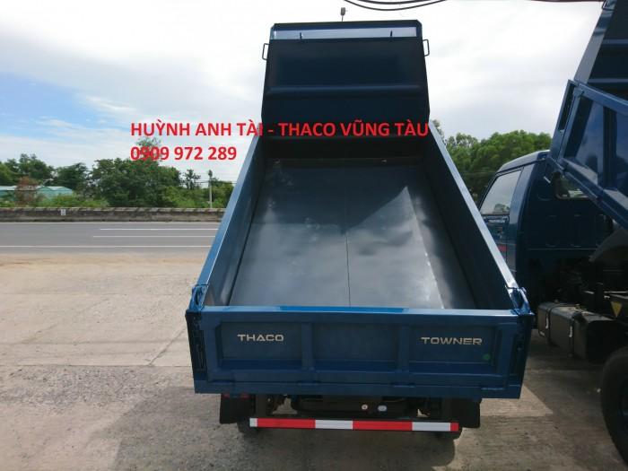 Trường Hải Vũng Tàu bán xe ben da su Thaco Towner 500 kg 750 kg trả góp 3