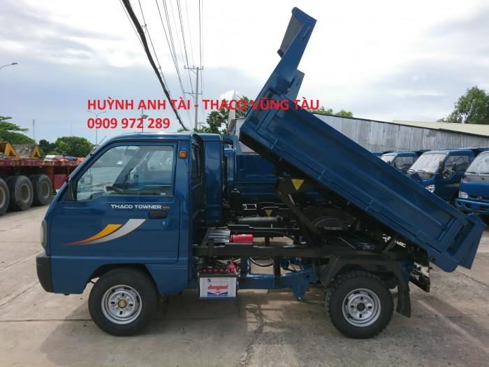Trường Hải Vũng Tàu bán xe ben da su Thaco Towner 500 kg 750 kg trả góp 2