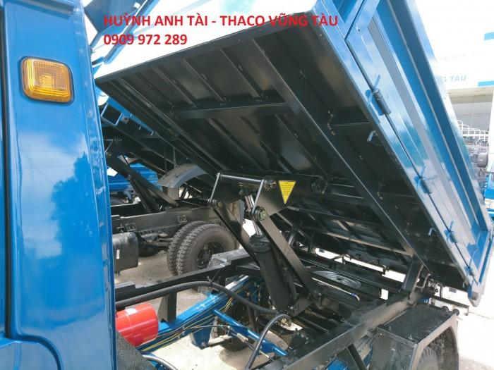 Trường Hải Vũng Tàu bán xe ben da su Thaco Towner 500 kg 750 kg trả góp 4