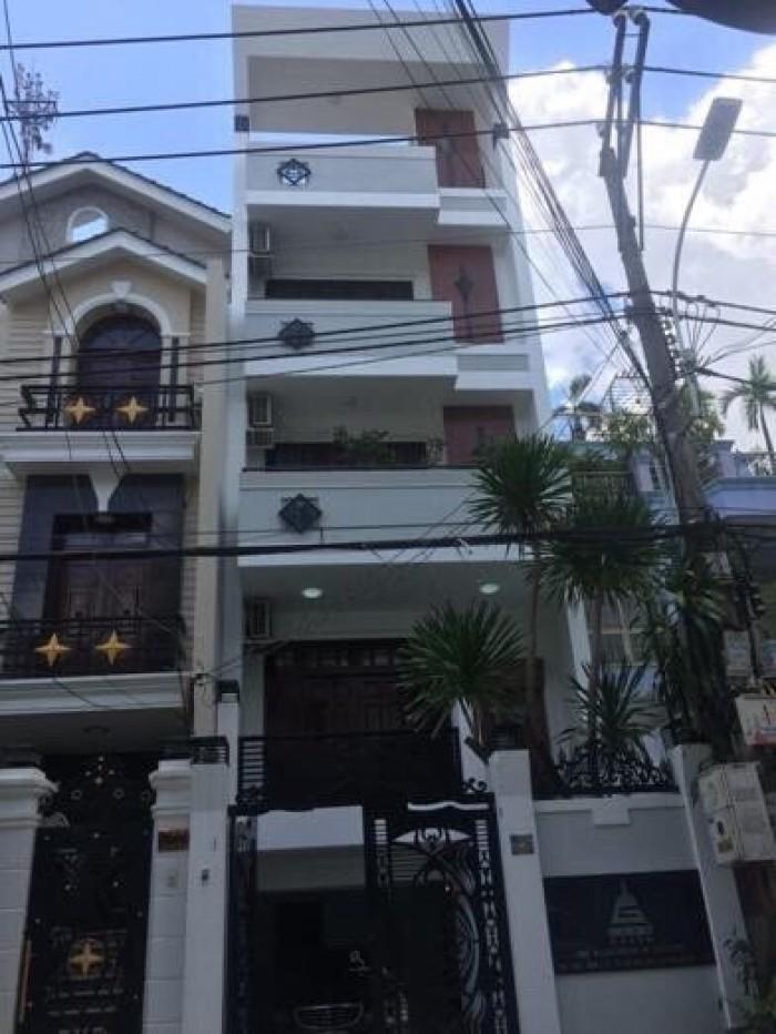 Biệt thự phố khu Phổ Quang, DT 5* 22m, 1 hầm, 5 lầu, khu biệt thự đẹp