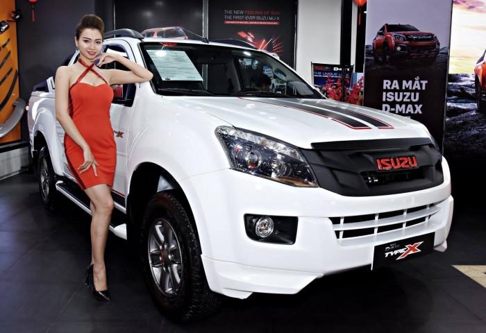 Giá xe bán tải Isuzu Dmax 2017 chính hãng tại Hải Phòng