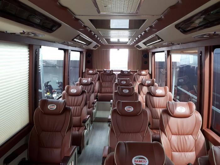 Hãng ô tô Isuzu Hải Phòng - bán xe Samco Bus Felix Limousine