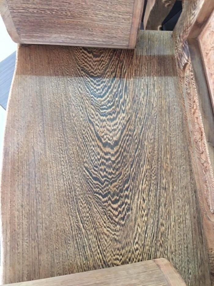 Bộ bàn ghế đồng kỵ kiểu hoàng gia gỗ mun đuôi công2