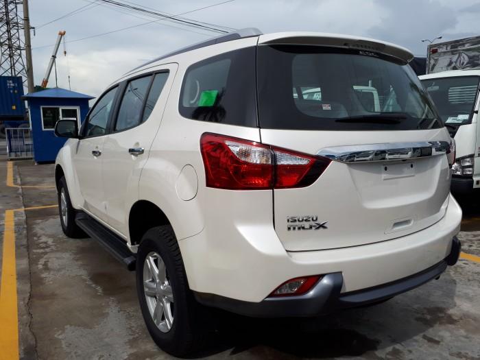 Hãng isuzu hải phòng bán ô tô Isuzu mu-X đời 2017, xe nhập khẩu nguyên chiếc