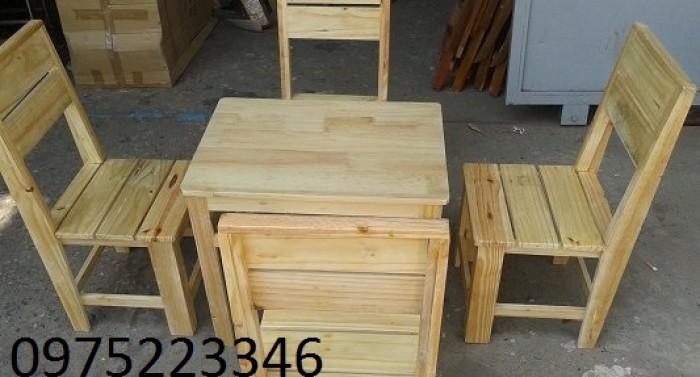 Bàn gỗ mini1