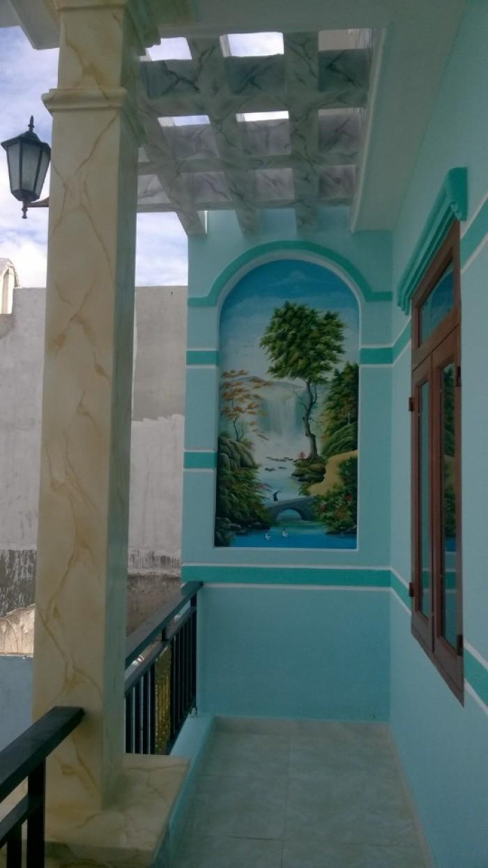 Bán Nhà mới 1 Lầu, 1 Trệt Diện Tích 5 x 20 – SHR - KDC Trường Sơn, Bình Chuẩn