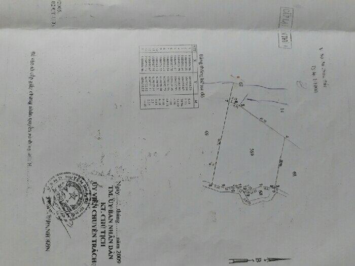 Bán đất dt 5×14m