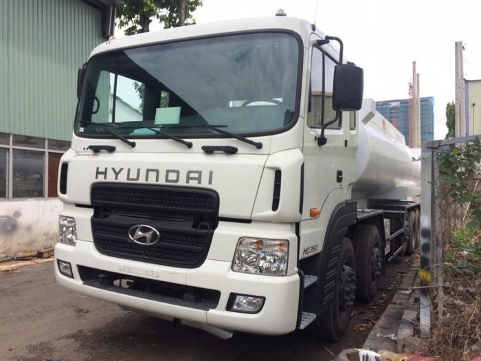 Xe Bồn Xitec Hyundai Hd360 Chở Xăng Dầu 26m3