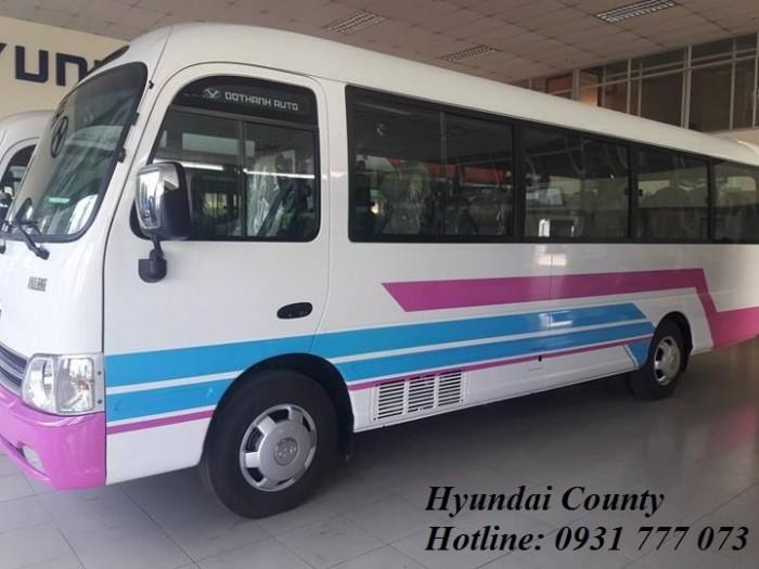 Khuyến mãi Hyundai County 29 chỗ