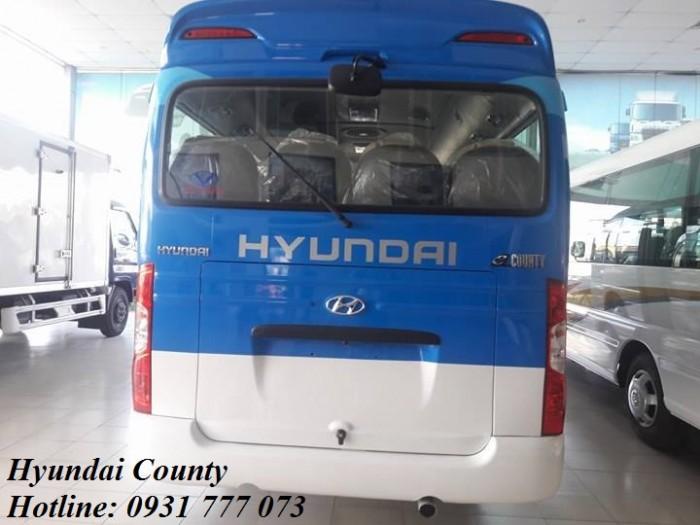 Giá xe Hyundai County 29 chỗ 0