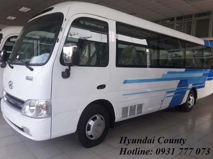 Giá xe Hyundai County 29 chỗ