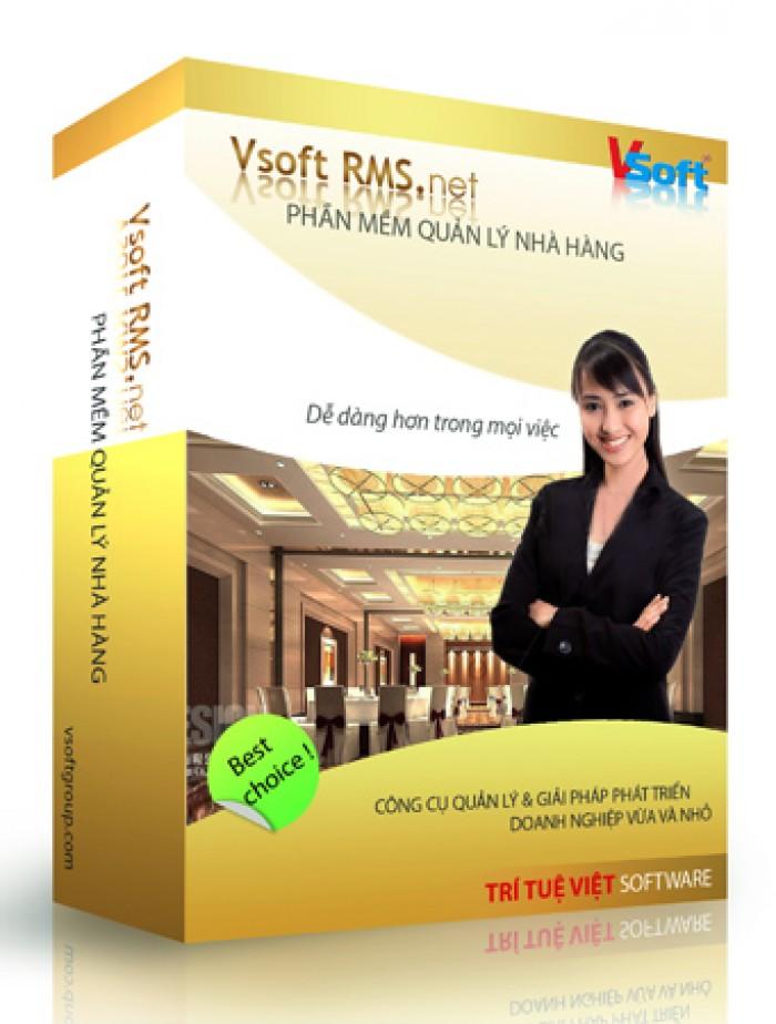 Phần mềm Quản Lý Nhà hàng Vsoft RMS.net