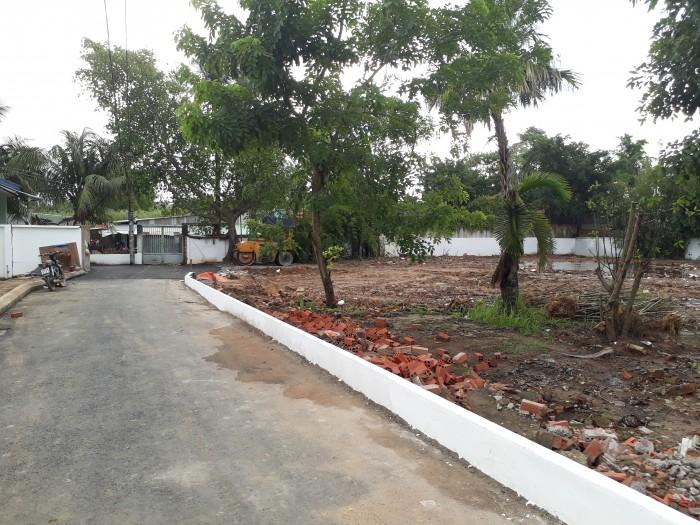 Bán đất thổ cư đường Nguyễn Duy Trinh, Q9, cách vòng xoay phú hữu 50m