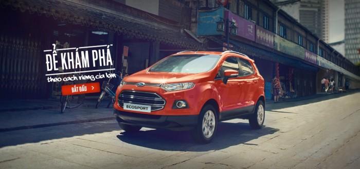 Ford Ecosport sản xuất năm  Số tự động Hybrid