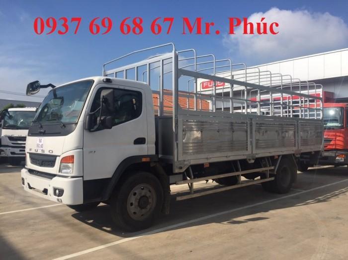 Xe tải Fuso FI12R 7 tấn/7t nhập khẩu, Bán Fsuo Fuso FI 7 tấn thùng dài 6.6m giá rẻ,...