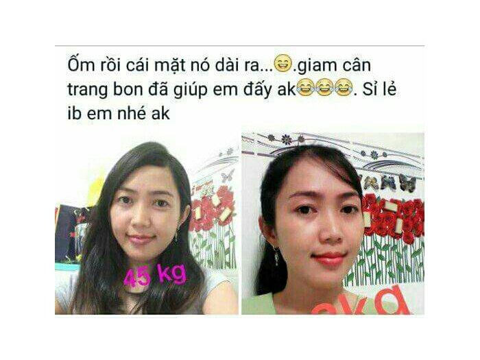 Bột Giảm Cân Trang Bon0