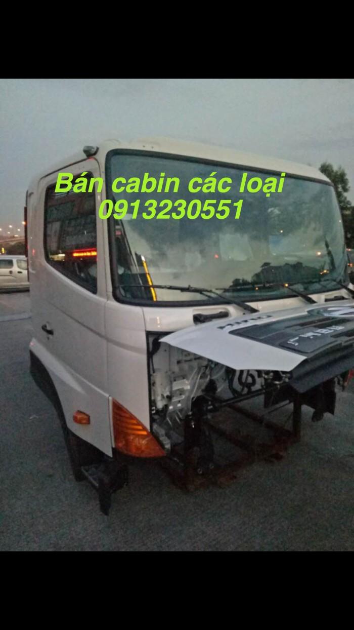 Bán cabin hino 700, 300 phun dầu điện tử kèm ECU, camc, howo T7h