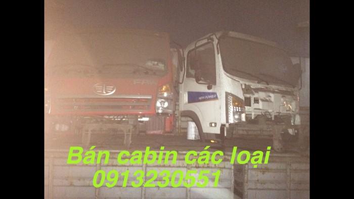 Bán cabin dongfong trường giang 7-23 tấn xe ben, tải. Việt trung các mẫu.