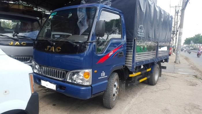 Xe tải cũ Jac 2t4 thùng bạt sàn inox đời 2017 1