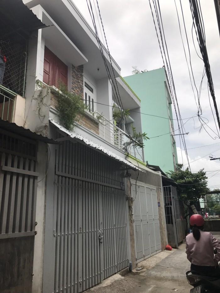 Bán Nhà Hẻm 58 Đường Phạm Văn Chiêu, phường 9, quận Gò Vấp, Hướng Tây