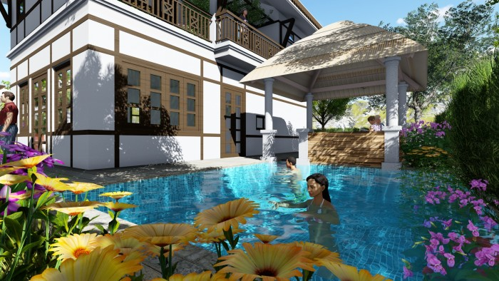 Mở bán biệt thự nghỉ dưỡng Green Oasis Villas chỉ từ 3,2 triệu/m2
