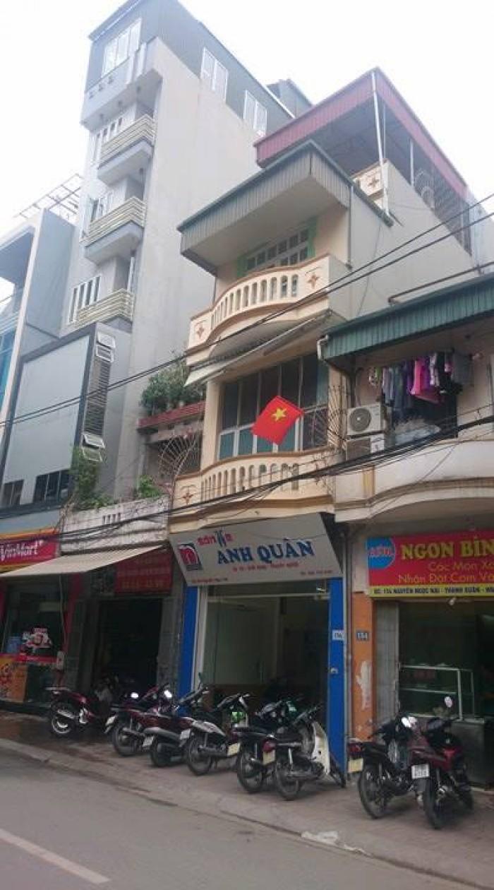 Bán nhà mặt phố Nguyễn Ngọc Nại Thanh Xuân, sổ đỏ 82m2 3,5 tầng mặt tiền 4m 15,4 tỷ