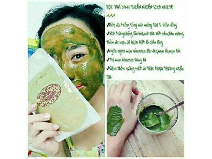 Bột trà xanh nguyên chất 100%0